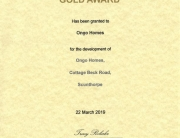 secure by design gold cert